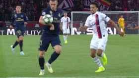 Gol anulado a Gareth Bale por mano previa
