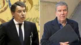 El expresidente madrileño Ignacio González y el publicista Daniel Mercado.