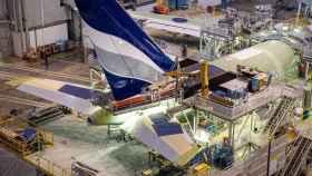 Una fábrica de Airbus.