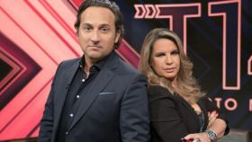 Iker Jiménez y Carmen María Porter en la presentación de la temporada 14 de 'Cuarto Milenio'.