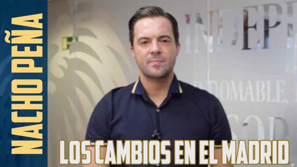 Los cambios que necesita el Real Madrid tras la derrota en París según Nacho Peña