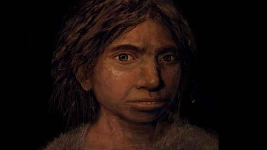 Reconstrucción del aspecto de una niña denisovana