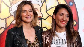 Nagore Robles y Sandra Barneda en uno de sus últimos actos públicos.
