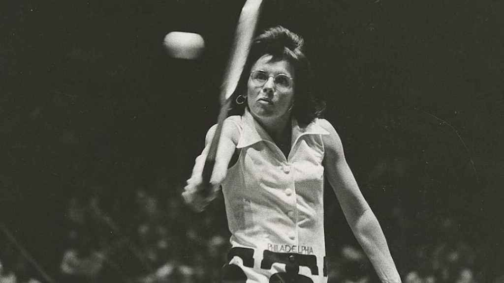 Billie Jean King, tenista, escritora y feminista. Foto: Instagram (@billiejeanking)
