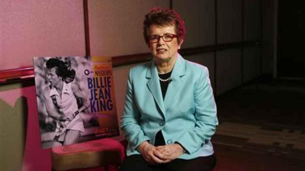 Billie Jean King, tenista y escritora