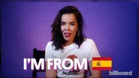 Captura del vídeo de la entrevista de Beatriz Luengo