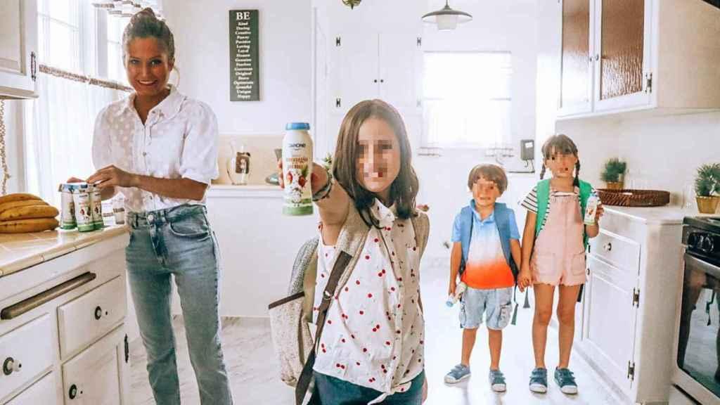 Desde que empezó septiembre Verdeliss y sus hijos no han parado de promocionar marcas.