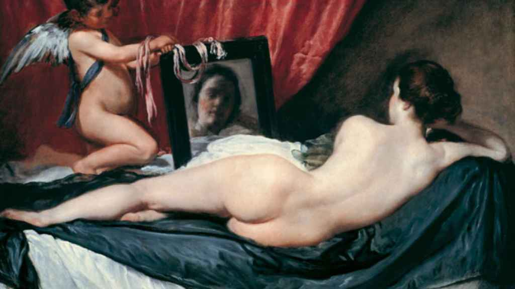 'Venus del espejo', de Velázquez.