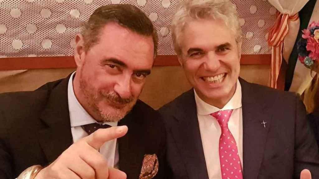 Carlos Herrera y Agustín Bravo en una imagen de archivo.