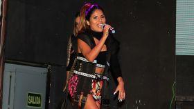 Isa P en la presentación de su primer single en Madrid.