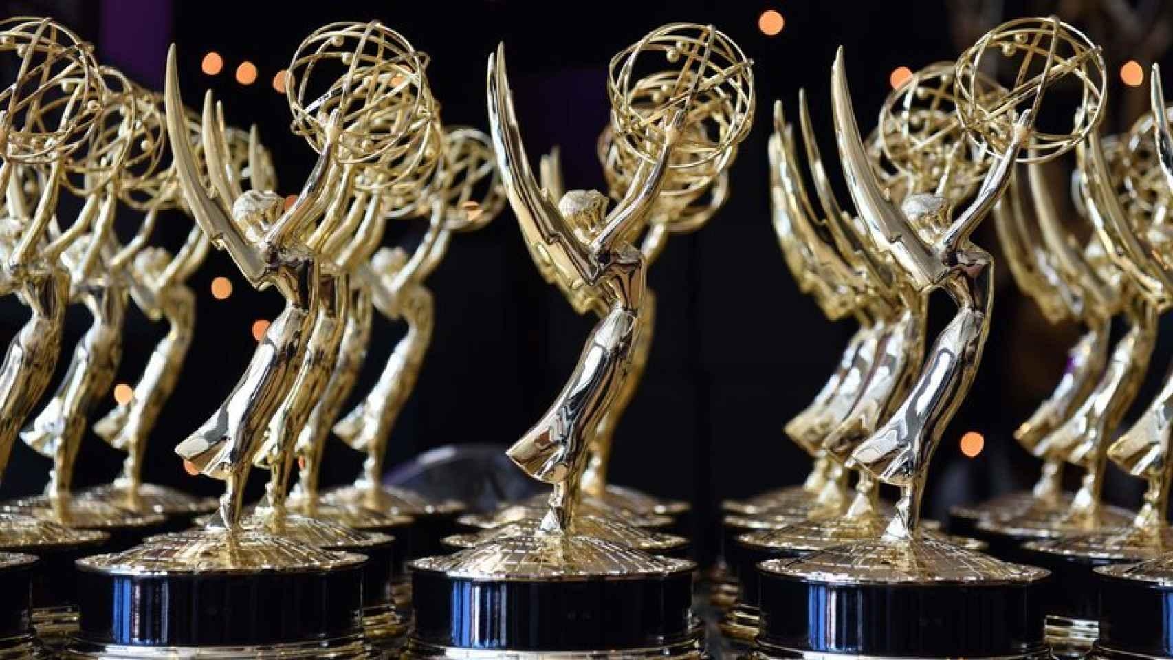 Estatuillas de los Premios Emmy.