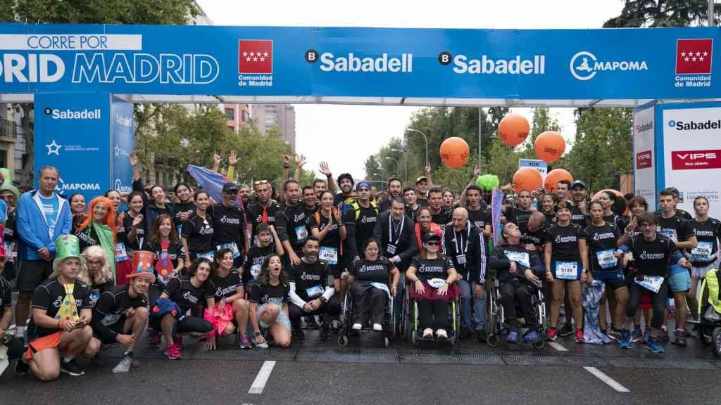 Madrid Corre, con la colaboración de Banco Sabadell