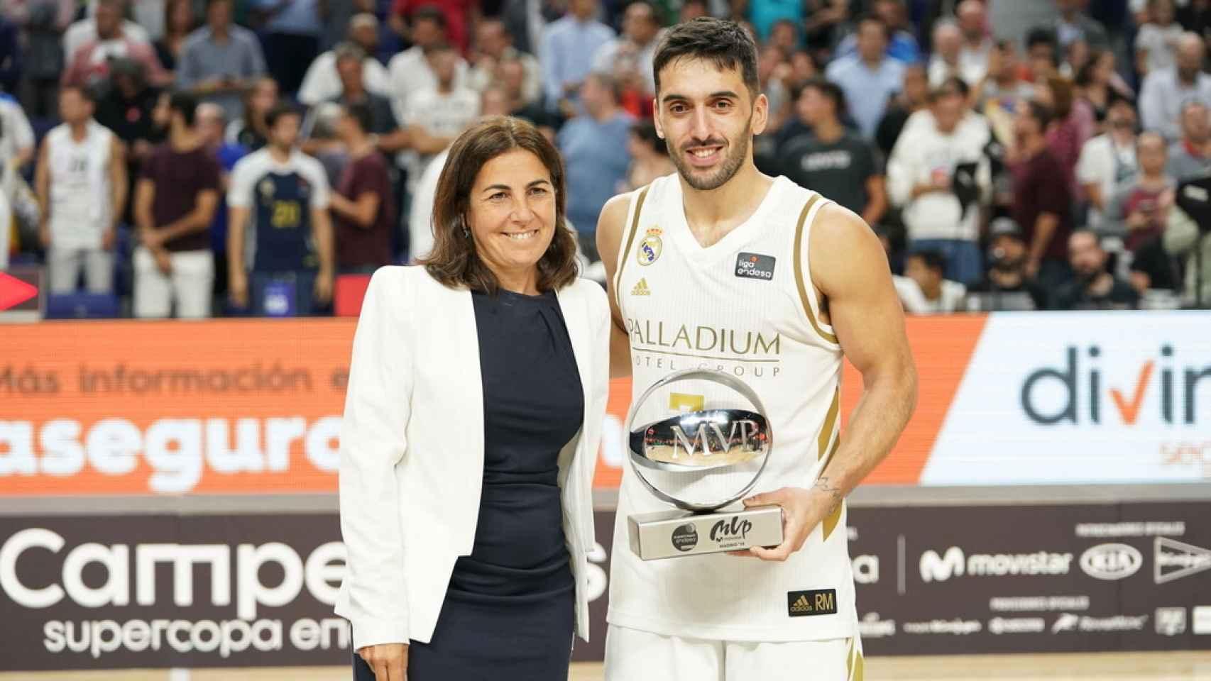 Campazzo, MVP de la final de la Supercopa ACB. Foto: ACB Media
