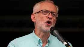 Jeremy Corbyn durante un acto del partido laborista en Londres.
