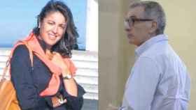 Antonia González, a la izquierda, y su marido, Jesús Arteaga. Él fue detenido por un asesinato que no cometió.
