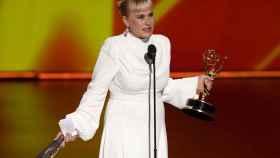 Patricia Arquette, ganadora y con discurso.
