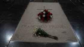 Tumba de Franco en la basílica del Valle de los Caídos./