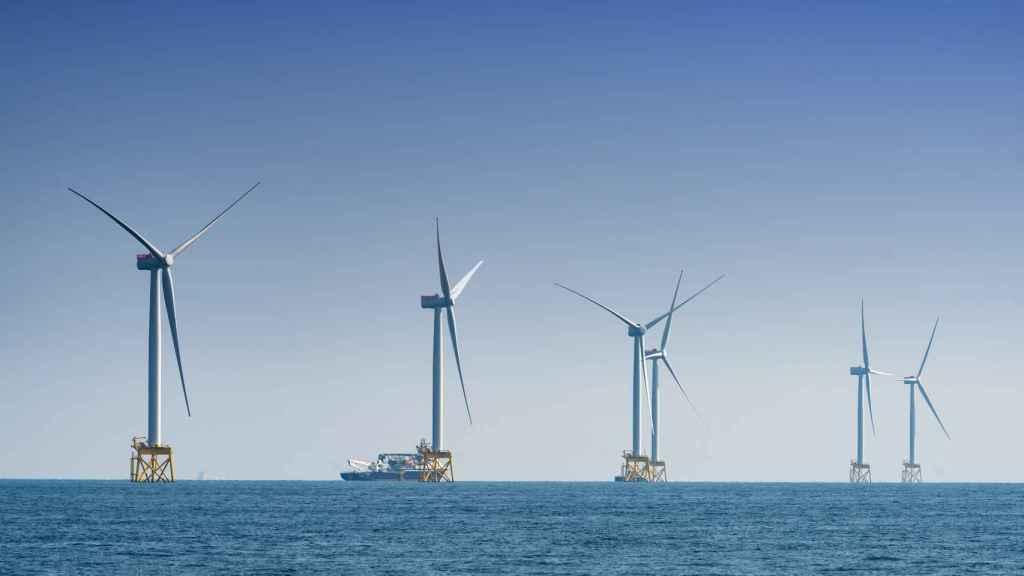 El parque eólico marino de Iberdrola en Reino Unido, East Anglia One.