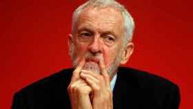 Jeremy Corbyn en el congreso anual del Partido Laborista.