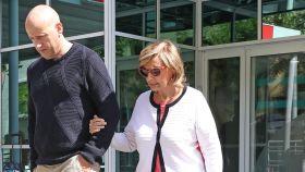 María Teresa acudió a la Clínica La Luz para su revisión de fisioterapia.