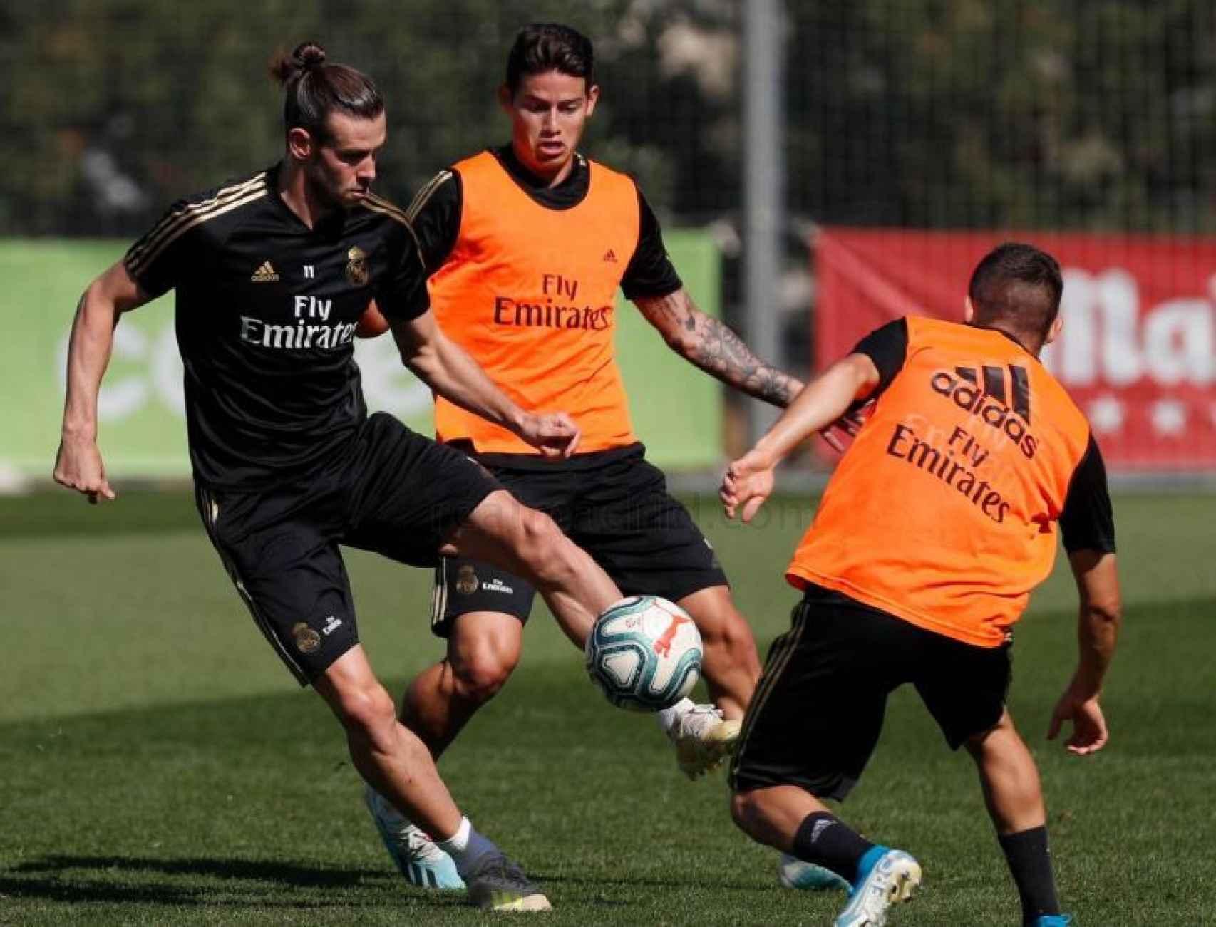 Entrenamiento del Real Madrid. Foto (realmadrid.com)
