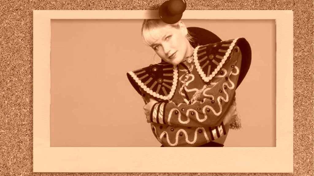 Xuxa Meneghel en un montaje de Jaleos.