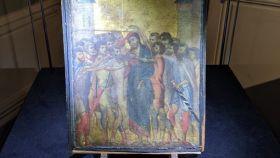 El cuadro de Cimabue hallado en Francia.