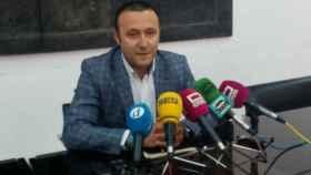Luis Miguel Núñez, en rueda de prensa