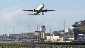 El aeropuerto de Tenerife Norte.