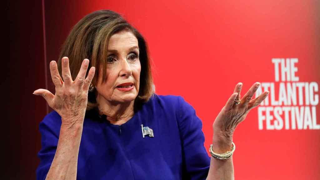 La presidenta de la Cámara Baja de EEUU, la demócrata Nancy Pelosi.