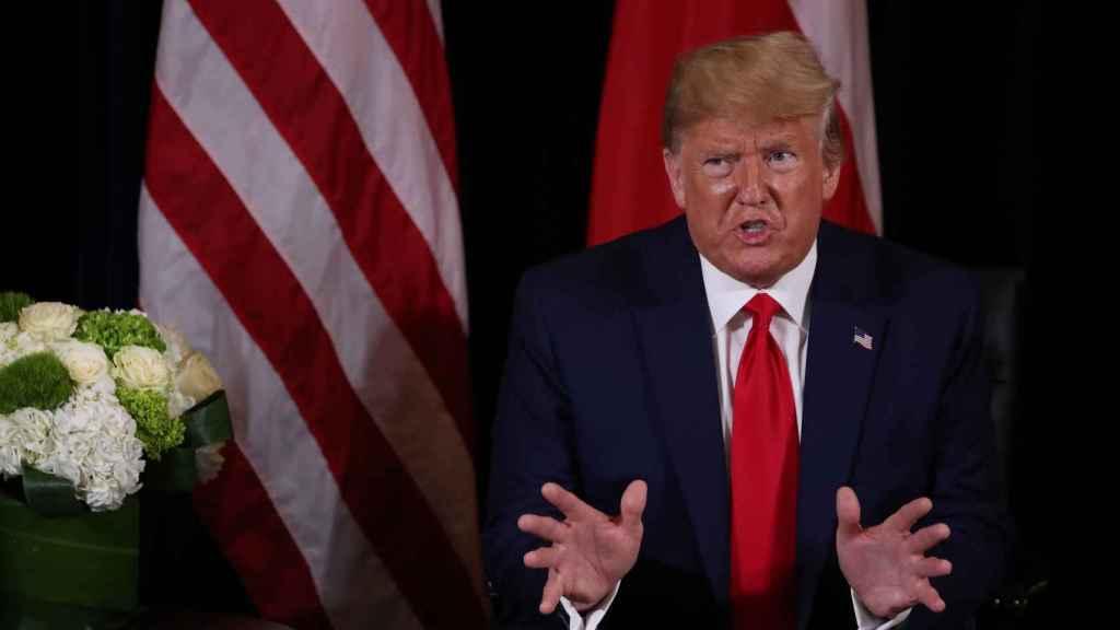 Trump, este martes en la  ONU
