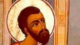 San Cleofás, discípulo.