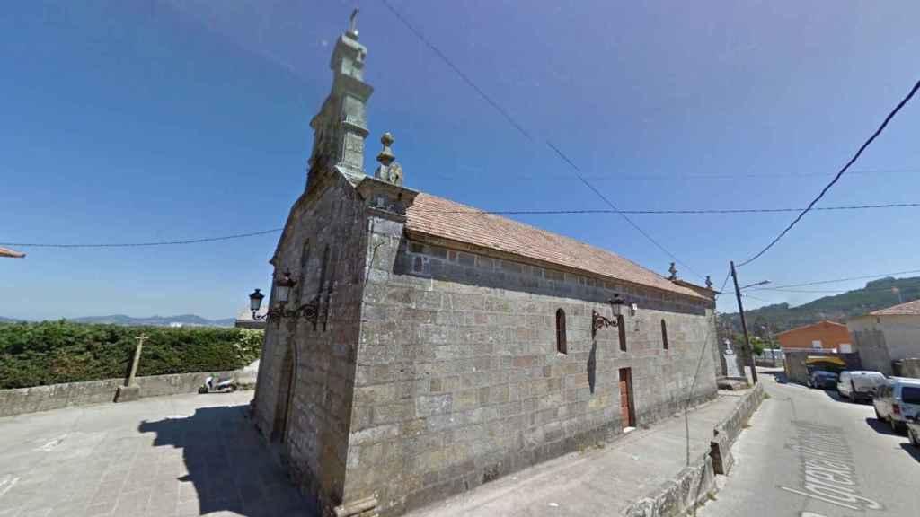 Parroquia de San Miguel de Oia, en Vigo