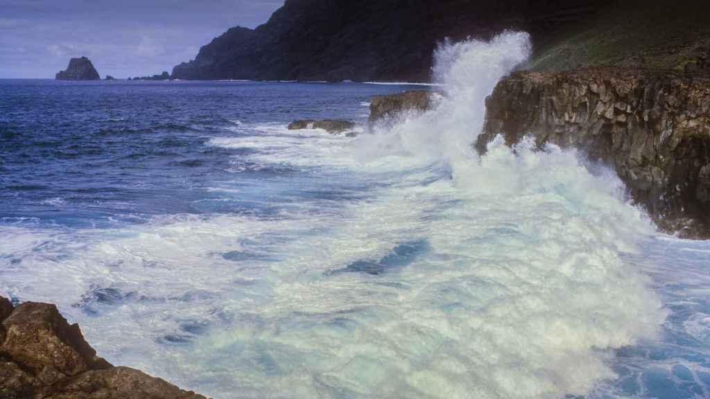 La costa de Canarias.