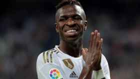 Vinicius Júnior llora tras marcar gol en el Real Madrid - Osasuna