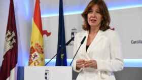Blanca Fernández, portavoz del Gobierno de Castilla-La Mancha
