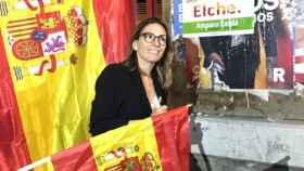 La ahora exportavoz de Vox en el Ayuntamiento de Elche (Alicante), Amparo Cerdá.