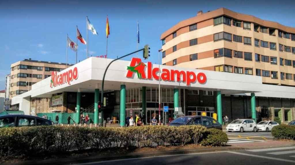El hipermercado Alcampo de Coia en Vigo (Pontevedra).