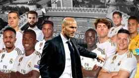 Zidane y la 'Unidad B'