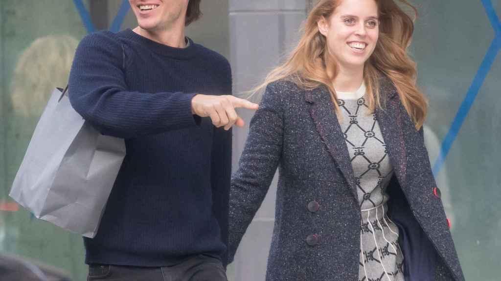 Beatriz de York junto a Edoardo Mapelli por las calles de Nueva York.