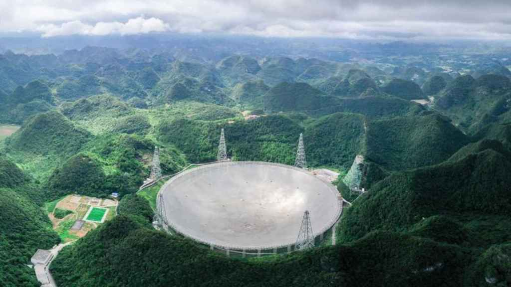 Telescopio chino FAST