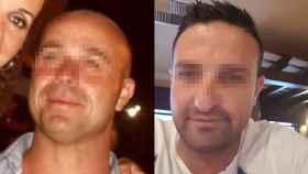 Manuel Jurado Ruiz (izquierda), cuyo cadáver apareció este pasado domingo junto al cuerpo aún con vida de otros dos varones en la cuneta de una autovía de Cádiz.