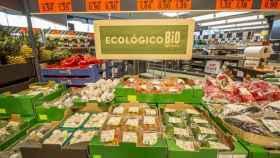 Una imagen de archivo de la zona de productos 'Bio' en una tienda Lidl.