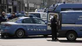 Efectivos de la Policía italiana en una operación contra la mafia