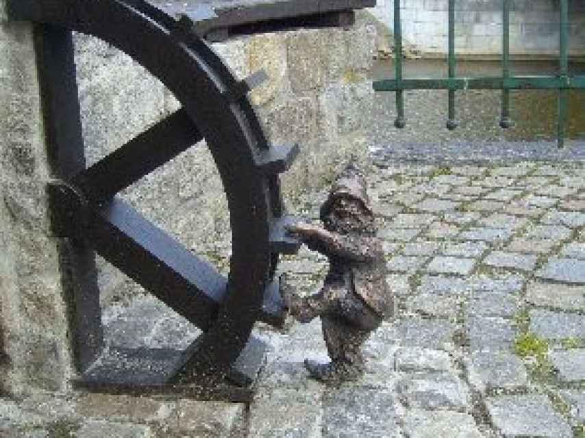 El enano molinero, héroe de Wroclaw.