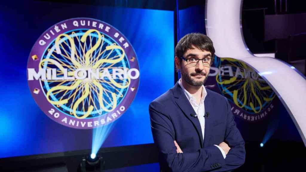 Juanra Bonet será el encargado de presentar la nueva edición de 'Quién quiere ser millonario', en Antena 3.