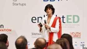 María Benjumea, fundadora y CEO de Spain Startups, presenta el South Summit 2019.