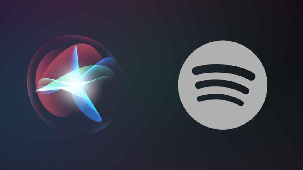 Siri y Spotify.