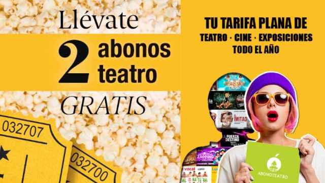 Tarifa plana de teatro y cine con EL ESPAÑOL