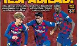 Portada Sport (28/09/2019)